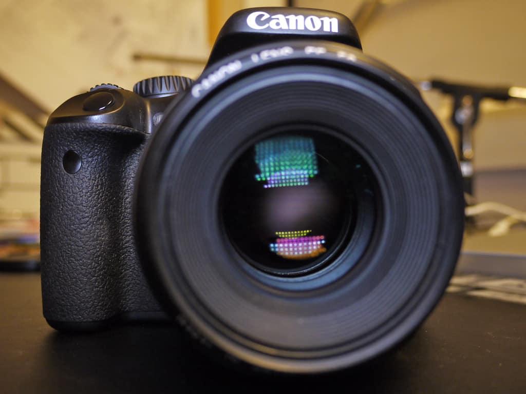 Cámara Canon EOS 550d