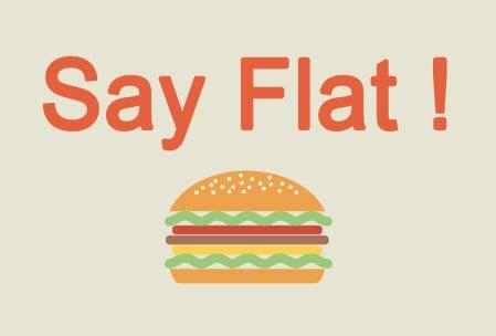 diseño web flat design