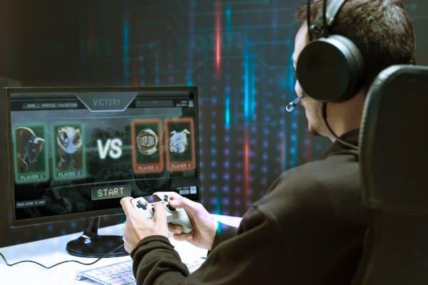 streamer jugando a juegos